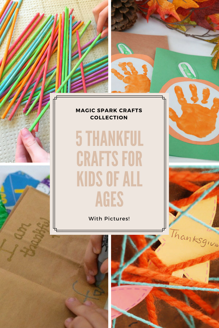 5 thankful crafts for kids of all ages for Fun crafts for all ages